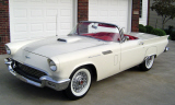 1957 FORD THUNDERBIRD E CONVERTIBLE -  - 23929