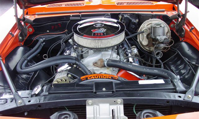 1969 CHEVROLET CAMARO SS COUPE - Engine - 23942