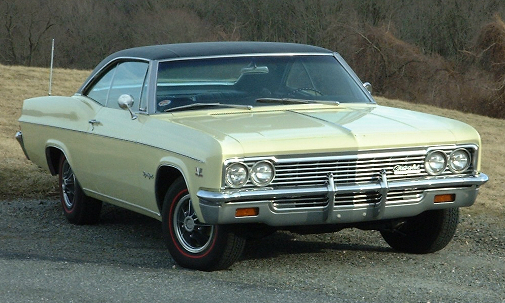 1966 CHEVROLET IMPALA SS 427 COUPE - Side Profile - 23948