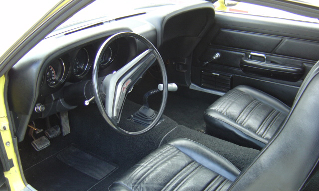1970 FORD MUSTANG BOSS 302 FASTBACK - Interior - 23954