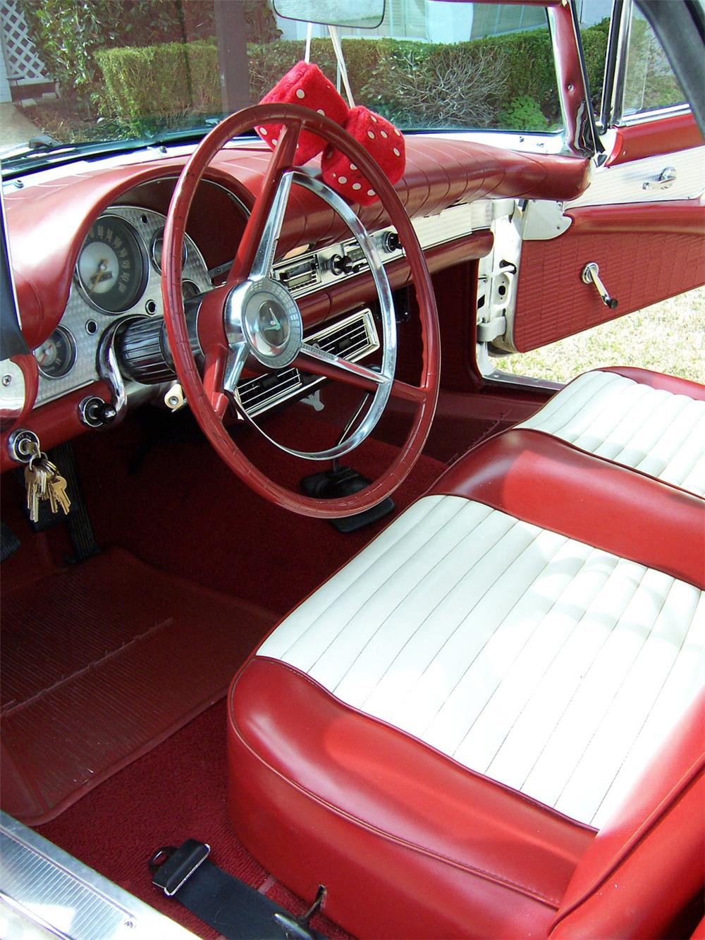 1957 FORD THUNDERBIRD CONVERTIBLE - Interior - 23962