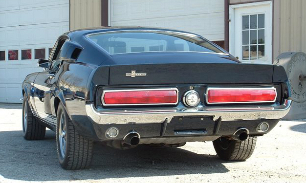 1967 SHELBY GT500 FASTBACK - Rear 3/4 - 23966