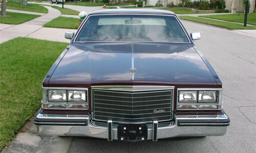 1983 CADILLAC SEVILLE 4 DOOR HARDTOP - Side Profile - 23975