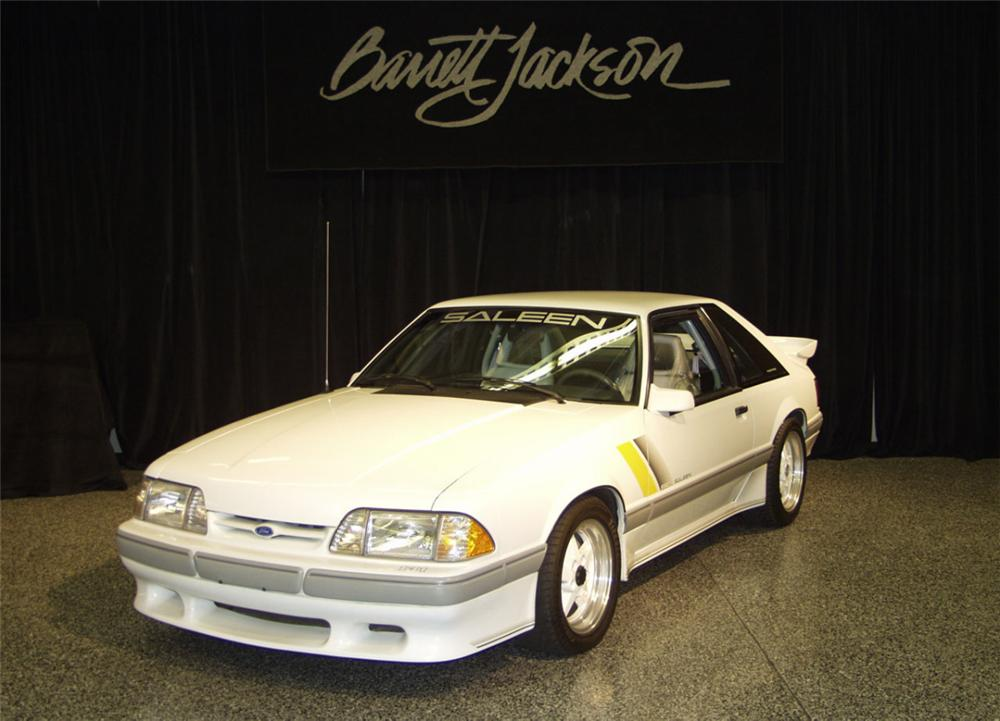 1989 FORD SALEEN MUSTANG SSC COUPE - Front 3/4 - 24043