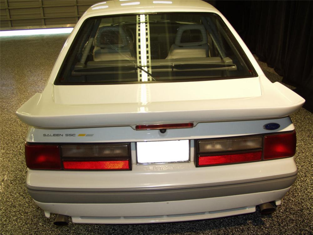 1989 FORD SALEEN MUSTANG SSC COUPE - Rear 3/4 - 24043