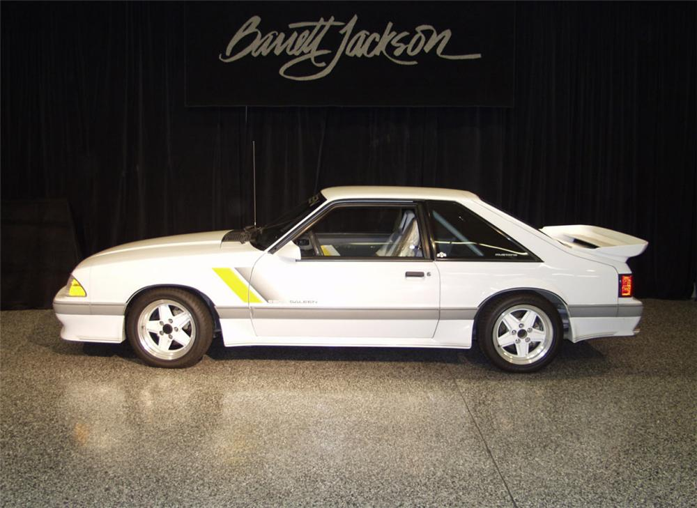 1989 FORD SALEEN MUSTANG SSC COUPE - Side Profile - 24043
