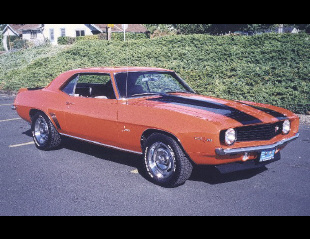 1969 CHEVROLET CAMARO Z/28 COUPE -  - 24070