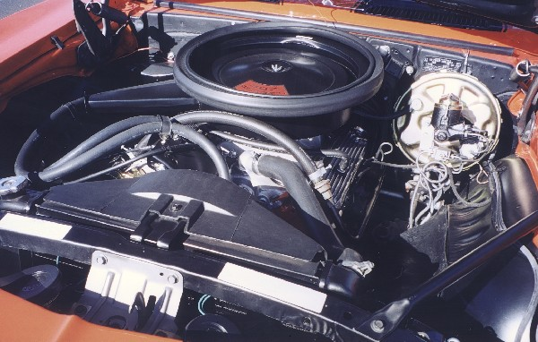 1969 CHEVROLET CAMARO Z/28 COUPE - Engine - 24070