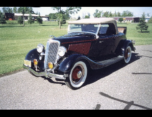 1934 FORD 40 STREET ROD ROADSTER -  - 24074