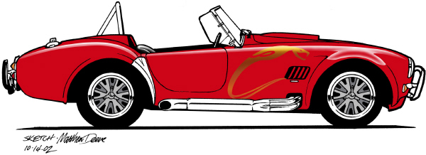 1965 SHELBY COBRA 4000 ROADSTER - Front 3/4 - 24081