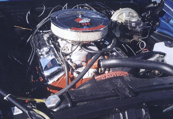 1968 CHEVROLET CAMARO RS/SS CONVERTIBLE - Engine - 24083
