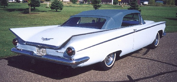 1959 BUICK LE SABRE CONVERTIBLE - Rear 3/4 - 24086