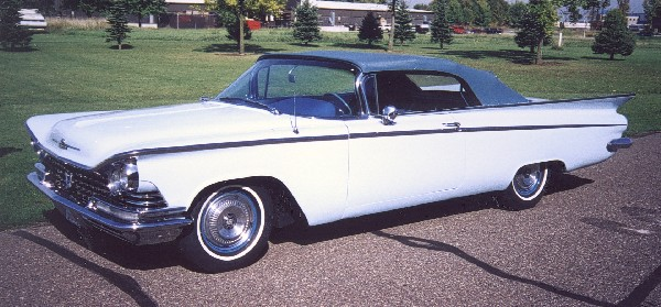 1959 BUICK LE SABRE CONVERTIBLE - Side Profile - 24086