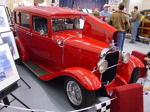 "1931 FORD ""ALICE COOPERS"" - Front 3/4 - 24103"