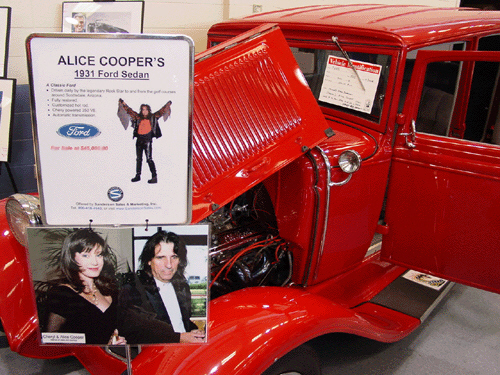 "1931 FORD ""ALICE COOPERS"" - Side Profile - 24103"