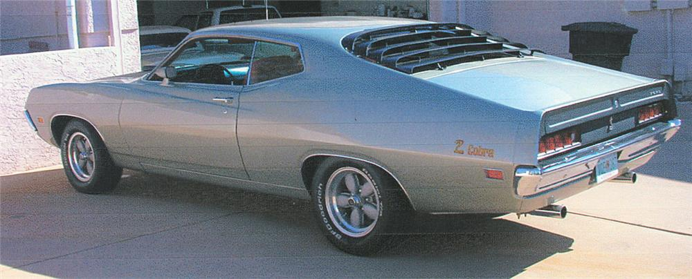 1971 FORD TORINO COBRA 2 DOOR HARDTOP - Rear 3/4 - 24109
