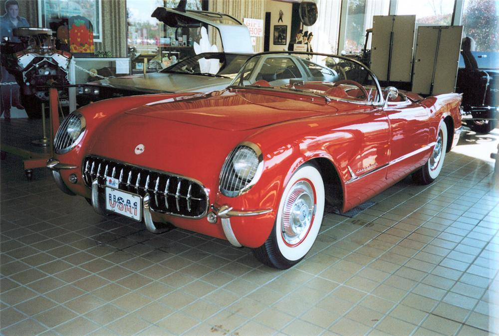 1954 CHEVROLET CORVETTE ROADSTER - Front 3/4 - 24121