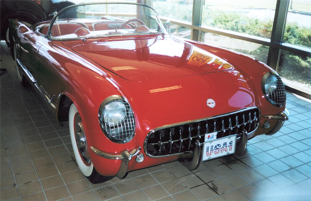 1954 CHEVROLET CORVETTE ROADSTER - Side Profile - 24121