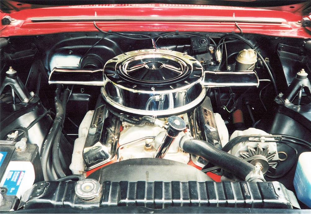 1966 CHEVROLET NOVA 2 DOOR HARDTOP - Engine - 24123