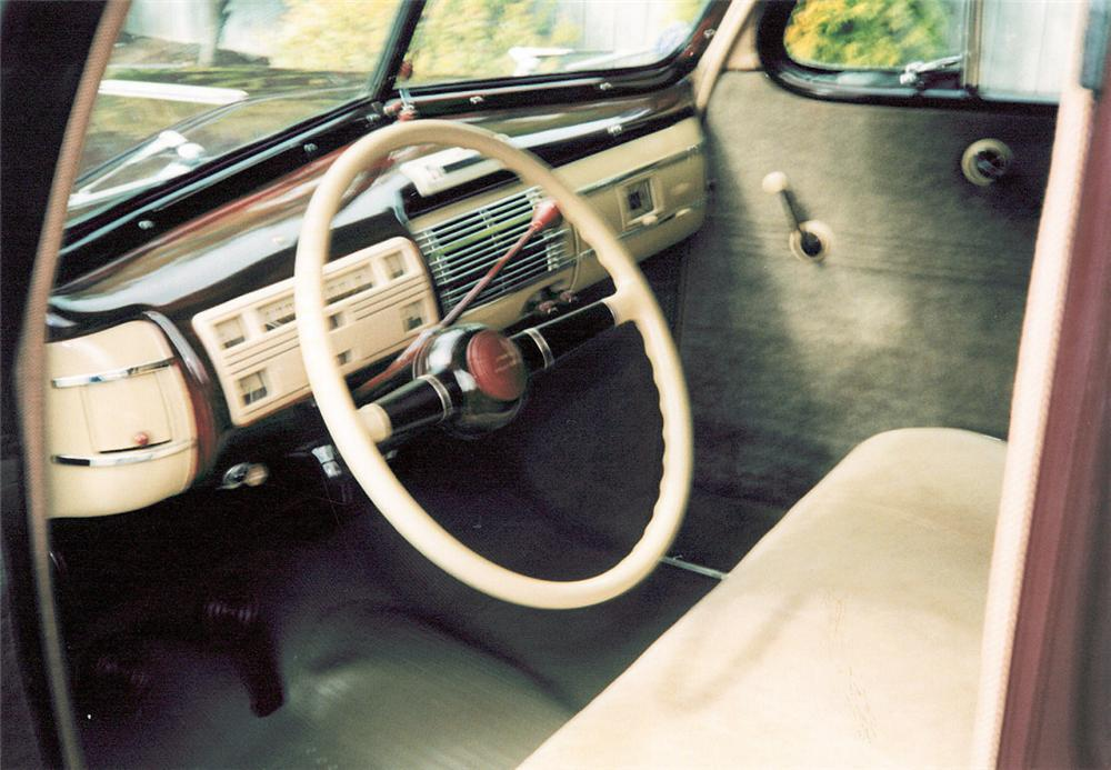 Interior Web on 1940 Ford Deluxe Coupe
