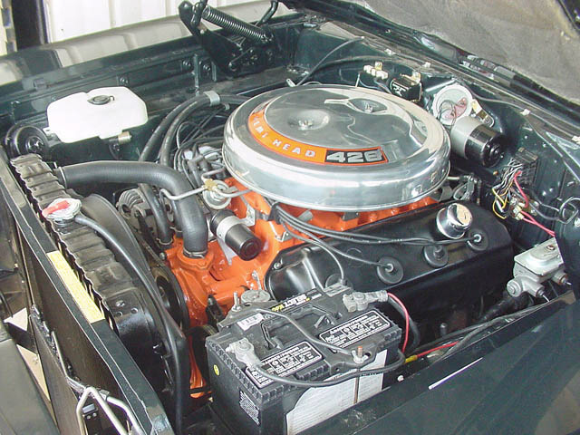 1968 PLYMOUTH HEMI ROAD RUNNER 2 DOOR SEDAN - Engine - 24127