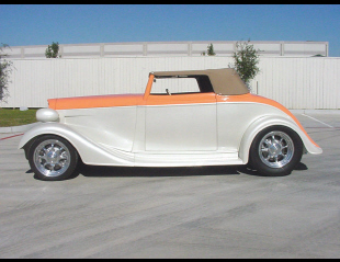 1934 CHEVROLET STREET ROD ROADSTER -  - 24128