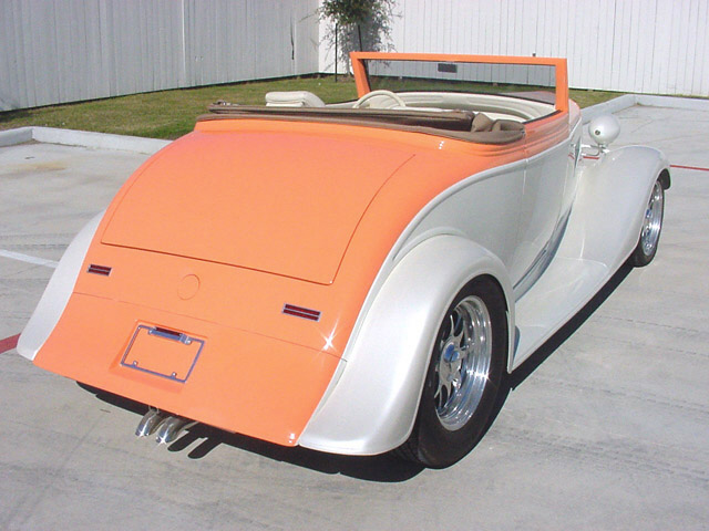 1934 CHEVROLET STREET ROD ROADSTER - Rear 3/4 - 24128