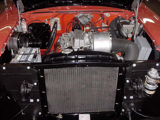 1957 CHEVROLET BEL AIR FI CONVERTIBLE - Engine - 24130