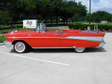 1957 CHEVROLET BEL AIR FI CONVERTIBLE -  - 24130