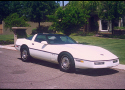 1986 CHEVROLET CORVETTE COUPE -  - 24138