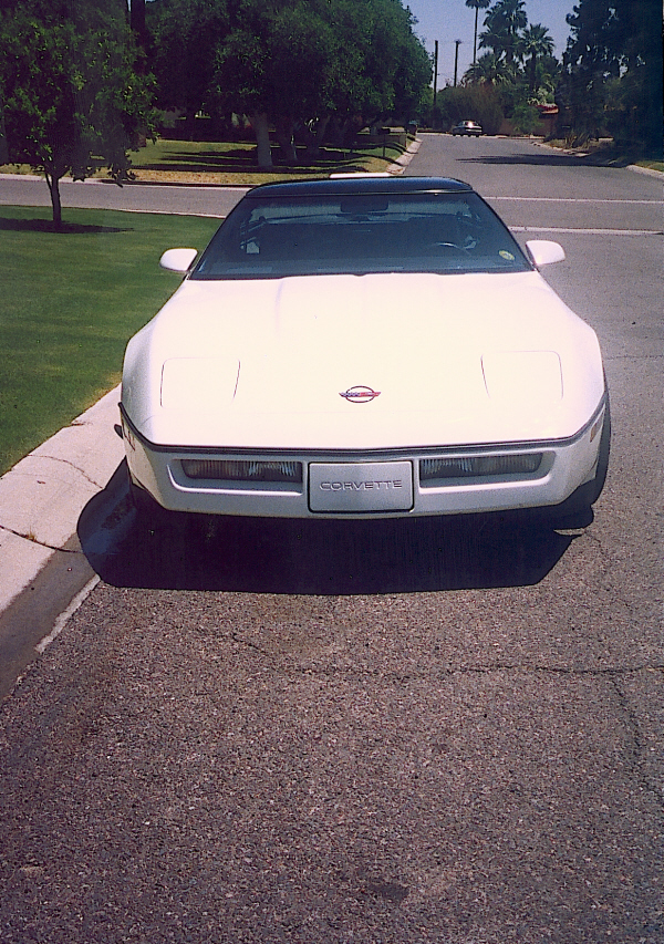 1986 CHEVROLET CORVETTE COUPE - Side Profile - 24138