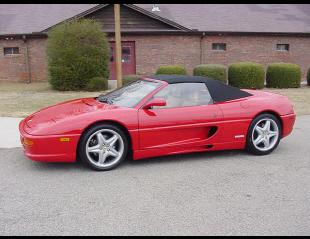 1997 FERRARI 355 SPIDER 2 DOOR CONVERTIBLE -  - 24152