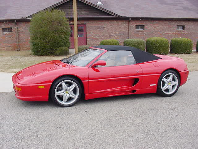 1997 FERRARI 355 SPIDER 2 DOOR CONVERTIBLE - Front 3/4 - 24152
