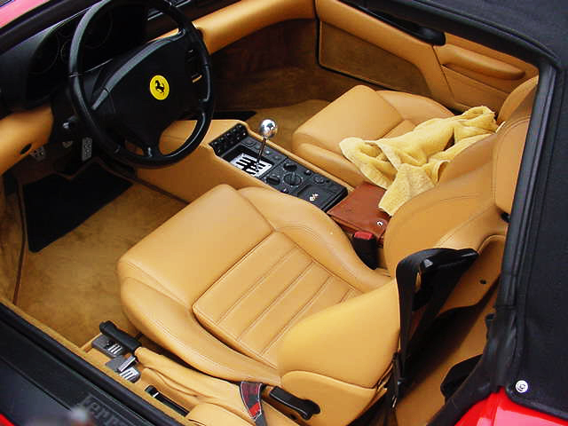 1997 FERRARI 355 SPIDER 2 DOOR CONVERTIBLE - Interior - 24152