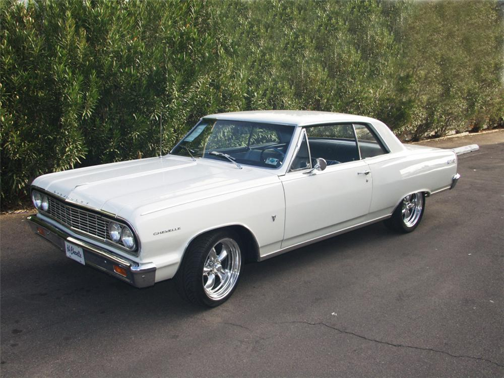 1964 CHEVROLET MALIBU SS SPORT COUPE - Front 3/4 - 24161