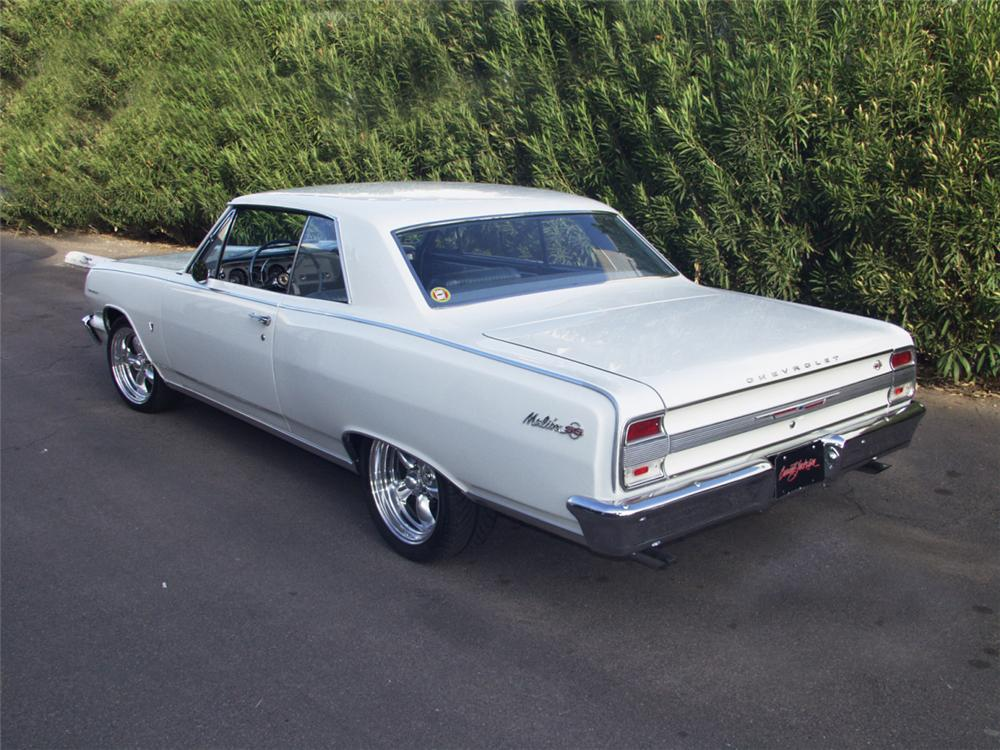 1964 CHEVROLET MALIBU SS SPORT COUPE - Rear 3/4 - 24161