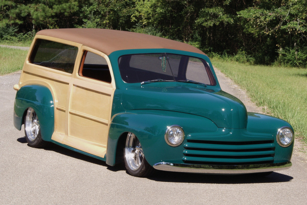 1947 ford custom 2 door woody 24172 for 1947 ford 2 door