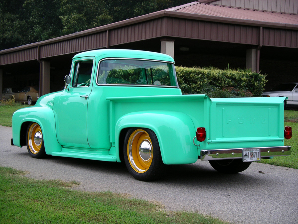 1956 ford f 1 custom big window pickup 24173