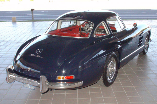 1955 MERCEDES-BENZ GULLWING RE-CREATION - Rear 3/4 - 24190