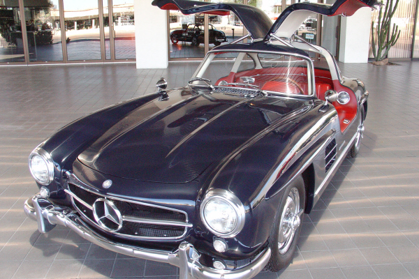 1955 MERCEDES-BENZ GULLWING RE-CREATION - Side Profile - 24190