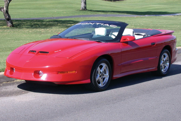 1997 PONTIAC FIREBIRD TRANS AM CONVERTIBLE - Front 3/4 - 24192