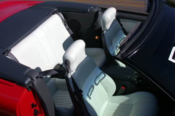 1997 PONTIAC FIREBIRD TRANS AM CONVERTIBLE - Interior - 24192