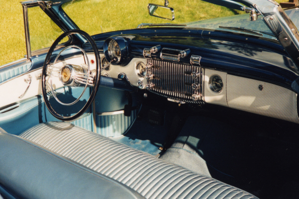 1953 BUICK SKYLARK CUSTOM CONVERTIBLE - Interior - 24199