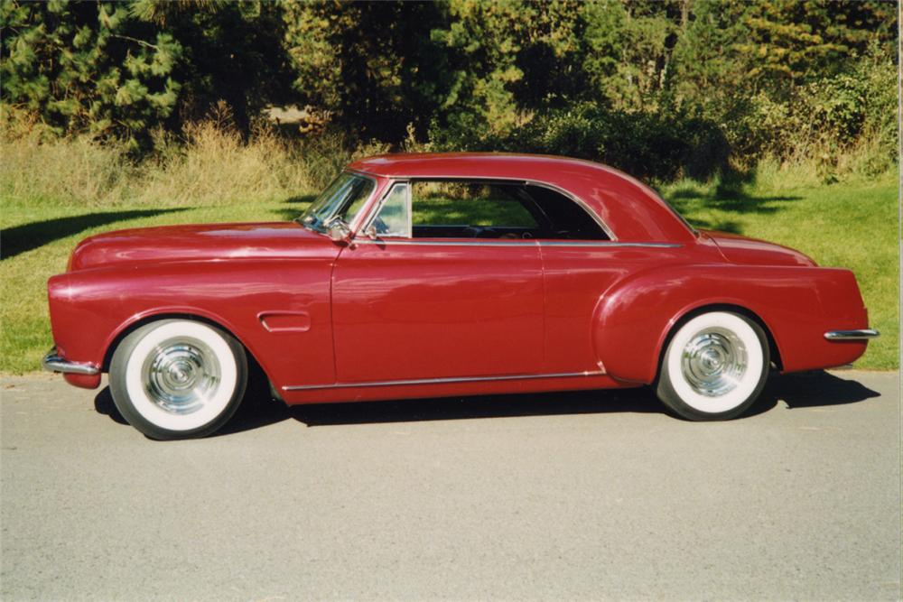 1950 OLDSMOBILE CONVERTIBLE CUSTOM HARDTOP - Side Profile - 24200