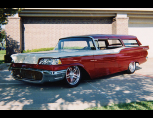 1959 FORD 2 DOOR WAGON -  - 24224