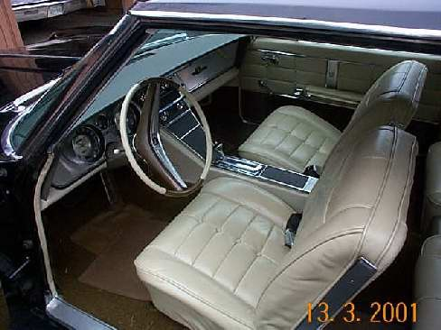 1963 BUICK RIVIERA 2 DOOR - Interior - 24243