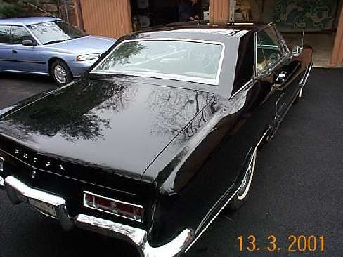 1963 BUICK RIVIERA 2 DOOR - Rear 3/4 - 24243