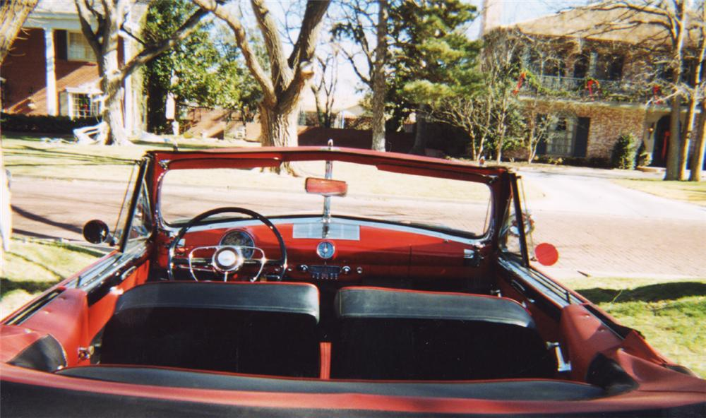 1950 FORD CONVERTIBLE - Interior - 24247