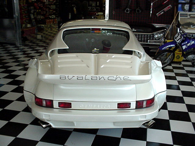 1986 PORSCHE GEMBELLA 2 DOOR - Rear 3/4 - 24284