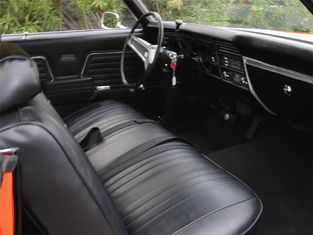 1969 CHEVROLET CHEVELLE COPO COUPE - Interior - 24285